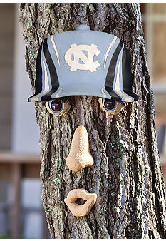 Evergreen UNC Tar Heels Tree Face