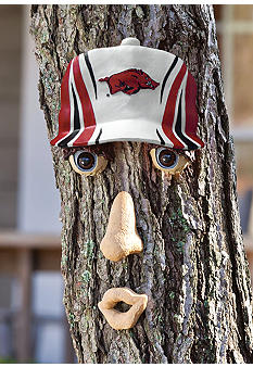 Evergreen University of Arkansas Razorbacks Tree Face
