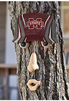 Evergreen Mississippi State Bulldogs Tree Face