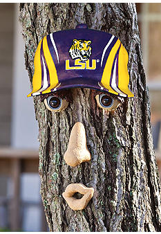 Evergreen LSU Tigers Tree Face