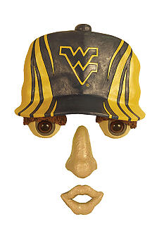 Evergreen West Virginia Mountaineers Tree Face
