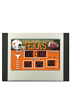 Evergreen Texas Longhorns Scoreboard Alarm Clock