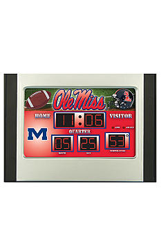 Evergreen Ole Miss Rebels Scoreboard Alarm Clock