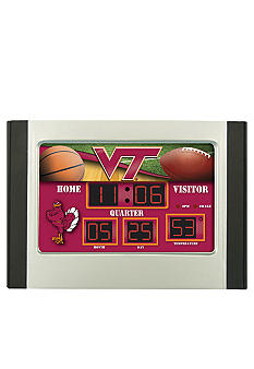 Evergreen Virginia Tech Hokies Scoreboard Alarm Clock