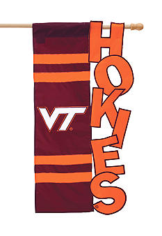 Evergreen Virginia Tech Hokies Large House Flag