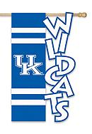 Kentucky Wildcats Large House Flag
