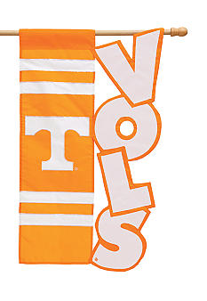 Evergreen Tennessee Volunteers Large House Flag