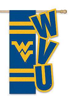Evergreen West Virginia Mountaineers Large House Flag