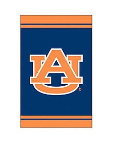 Evergreen Auburn Tigers Fiber Optic Team Garden Flag - Online Only