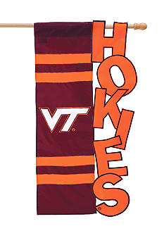 Evergreen Virginia Tech Hokies Small Flag