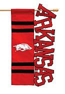 Arkansas Razorbacks Small Flag