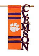 Clemson Tigers Small Flag