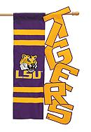 LSU Tigers Small Flag