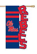 Ole Miss Rebels Small Flag