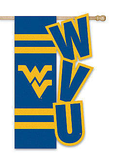 Evergreen West Virginia Mountaineers Small Flag