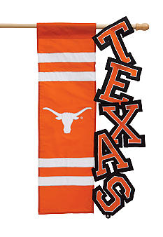 Evergreen Texas Longhorns Small Flag