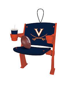 Evergreen Virginia Cavaliers Stadium Chair Ornament