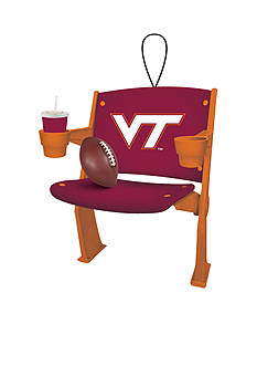 Evergreen Virginia Tech Hokies Stadium Chair Ornament