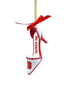 Evergreen NC State Wolfpack Shoe Ornament