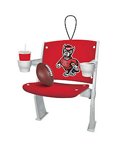 Evergreen NC State Wolfpack Stadium Chair Ornament