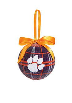 Evergreen Clemson Tigers Ball Ornament