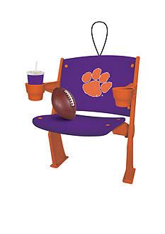 Evergreen Clemson Tigers Stadium Chair Ornament