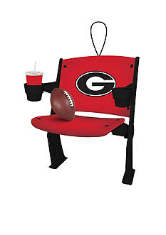 Evergreen Georgia Bulldogs Stadium Chair Ornament