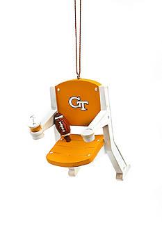 Evergreen Georgia Tech Yellow Jackets Stadium Chair Ornament