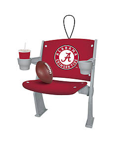Evergreen Alabama Crimson Tide Stadium Chair Ornament