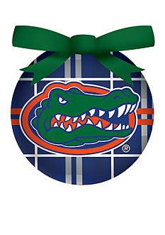 Evergreen Florida Gators Ball Ornament