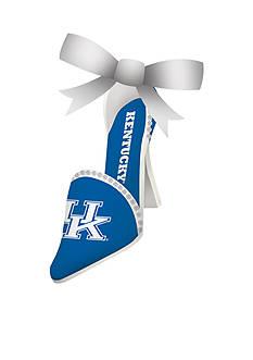 Evergreen Kentucky Wildcats Shoe Ornament