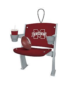 Evergreen Mississippi State Bulldogs Stadium Chair Ornaments