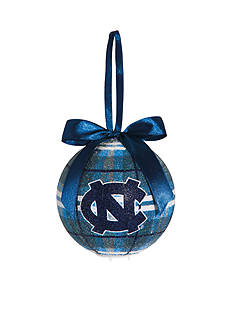 Evergreen UNC Tar Heels Ball Ornament