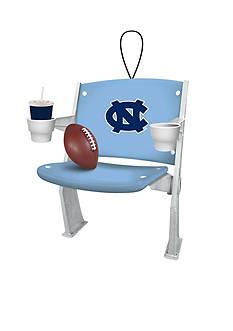 Evergreen UNC Tar Heels Stadium Chair Ornament