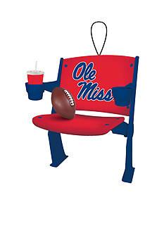 Evergreen Ole Miss Rebels Stadium Chair Ornament