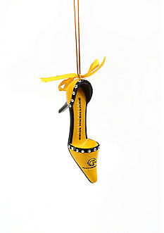 Evergreen Southern Miss Golden Eagles Shoe Ornament