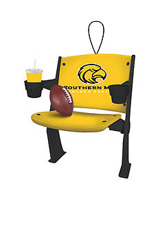 Evergreen Southern Miss Golden Eagles Stadium Chair Ornament