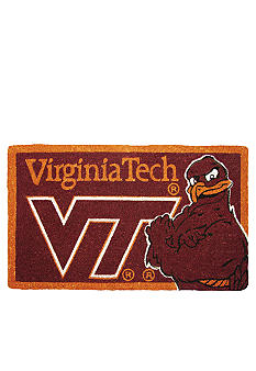 Evergreen Virginia Tech Hokies Coir Mat