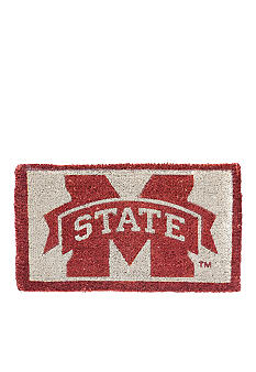Evergreen Mississippi State Bulldogs Coir Mat