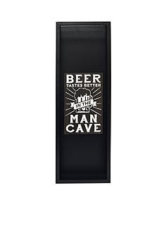 New View Beer Tastes Better in the Man Cave Bottle Cap Catcher