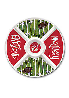 Magnolia Lane Tailgating Divided Veggie Tray