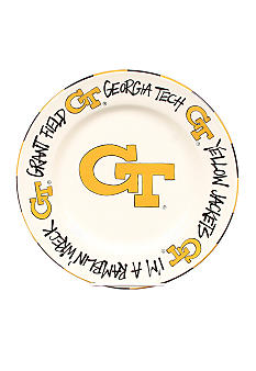 Magnolia Lane Georgia Tech Yellow Jackets Round Plate