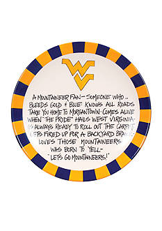 Magnolia Lane West Virginia Mountaineers Definition Plate