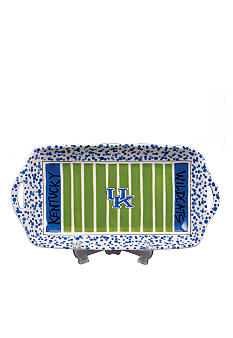 Magnolia Lane Kentucky Wildcats Stadium Platter