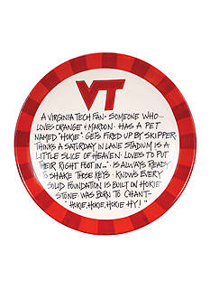 Magnolia Lane Virginia Tech Hokies Definition Plate
