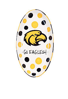 Magnolia Lane Southern Miss Oval Tray