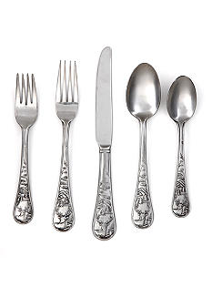 Cambridge Silversmiths Deer Satin 20 pc Flatware Set - Online Only