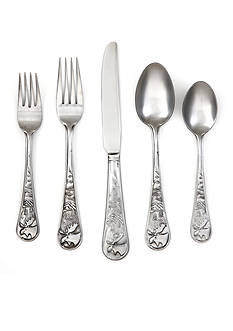 Cambridge Silversmiths Moose Satin 20-Piece Flatware Set - Online Only