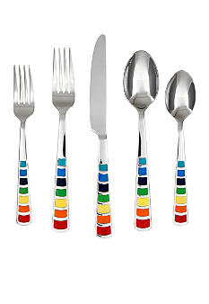 Fiesta Masquerade 20 PC Flatware Set