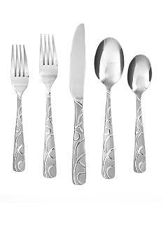 Cambridge Silversmiths Conquest Sand 20-piece Flatware Set